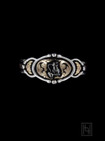 Calf Roper Cuff Bracelet