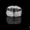 Silver Princess & Channel-Set Ring