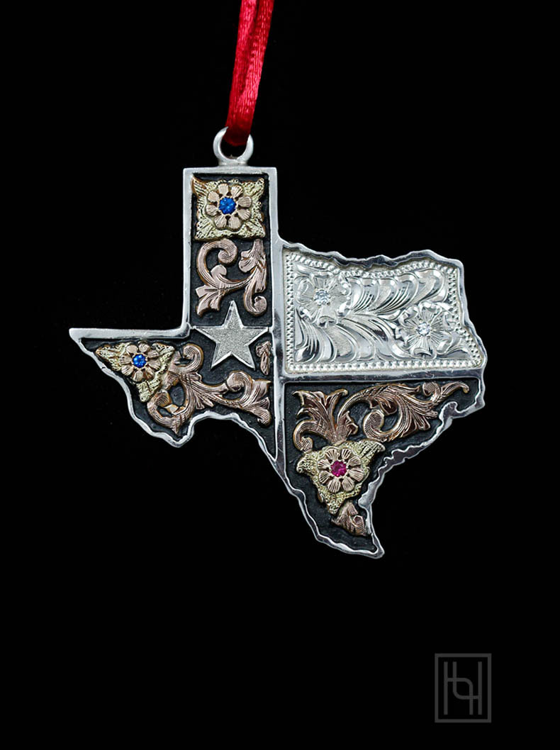 texas christmas ornaments